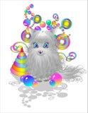 серый котенок малый Стоковое Фото