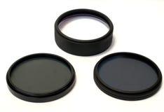 серый макрос объектива нейтральн поляризовывая Стоковое Изображение RF