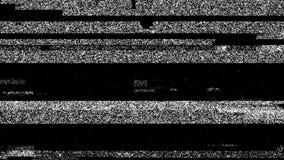 Серый пакостный шум на предпосылке повреждения черного небольшого затруднения видео-