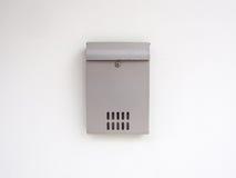 Серый почтовый ящик Стоковые Фотографии RF