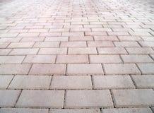 серый розовый тротуар Стоковые Изображения RF