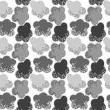 Серый снежок заволакивает безшовная картина Стоковые Фото