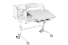Серый стол школы Стоковое Изображение