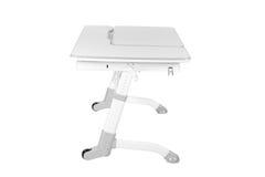 Серый стол школы Стоковое фото RF