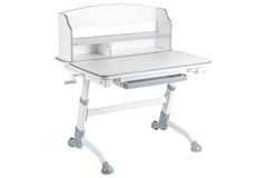 Серый стол школы Стоковая Фотография