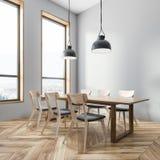 Серый угол столовой бесплатная иллюстрация