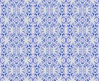 Серый цвет безшовной чувствительной картины многоточий голубой Стоковые Изображения RF
