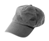 серый цвет бейсбольной кепки Стоковые Фотографии RF