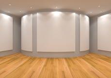 Серый цвет галереи Стоковая Фотография