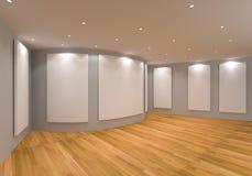 Серый цвет галереи Стоковые Фотографии RF