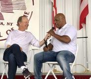 Серый цвет Джима железных сетей Mike Tyson и Showtime Стоковая Фотография