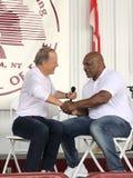 Серый цвет Джима железных сетей Mike Tyson и Showtime Стоковое Фото