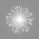 Серый цвет зарева звезды Стоковые Изображения RF