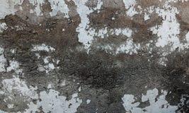 Серый цвет и коричневая затеняемая предпосылка grunge текстурированная стеной стоковые фотографии rf