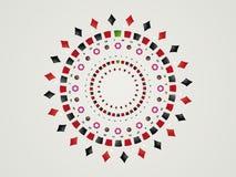серый цвет казино backgroung Стоковая Фотография RF