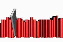серый цвет книги Стоковое фото RF