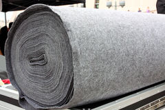 серый цвет ковра Стоковое Фото