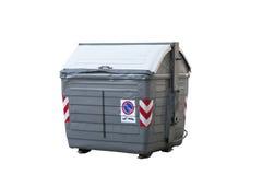 серый цвет отброса контейнера Стоковые Фото