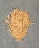 серый цвет предпосылки над пшеницей Стоковые Изображения RF