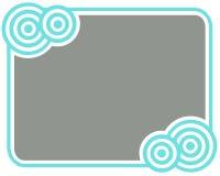 серый цвет рамки круга Стоковые Изображения RF