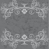 серый цвет рамки Стоковое Изображение RF