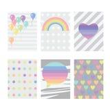 Серый цвет 6 радуги Стоковые Фотографии RF