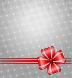 серый цвет рождества предпосылки иллюстрация штока