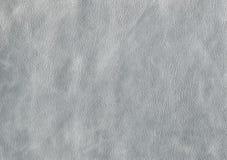 Серый цвет, серебряная кожаная текстура Стоковое фото RF