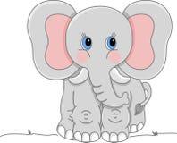 серый цвет слона Стоковые Изображения RF