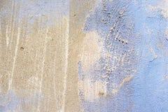 Серый цвет старой предпосылки конкретный голубой Стоковое Изображение