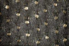Серый цвет шерстяной ткани Стоковые Фотографии RF