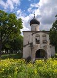 серый цвет pskov церков Стоковые Изображения RF
