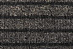 Серый цвет striped естественная текстура шерстей для предпосылки Селективный фокус стоковые изображения