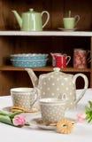 серый чай установки стоковое фото