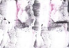 Серым покрашенная пинком текстура акварели Стоковые Изображения RF