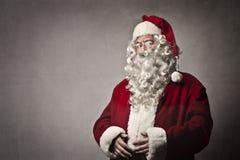 Серьезное Дед Мороз Стоковое Изображение