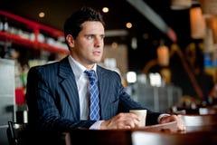 Серьезный бизнесмен Стоковая Фотография
