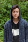 Серьезный парень подростка Стоковые Изображения RF