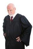 Серьезный судья стоковая фотография rf
