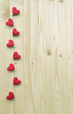 8 сердец Стоковые Фото