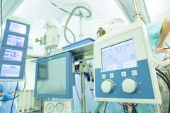 Сердечная хирургия с кардиопульмональным перепуском Стоковая Фотография
