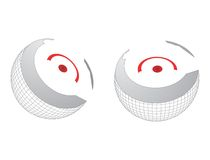 Сердечник глобуса Стоковое фото RF