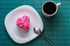 Сердечный десерт Стоковые Фото