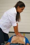 Сердечный массаж стоковая фотография