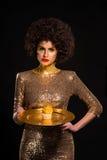Сердитая богатая женщина Стоковые Фото