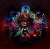 Сердитая голова волка бесплатная иллюстрация