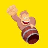 Сердитая обезьяна Стоковые Фото