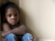 сердитая девушка Стоковая Фотография RF