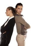 сердитые 2 женщины Стоковые Изображения