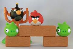 Сердитые птицы Стоковые Фотографии RF